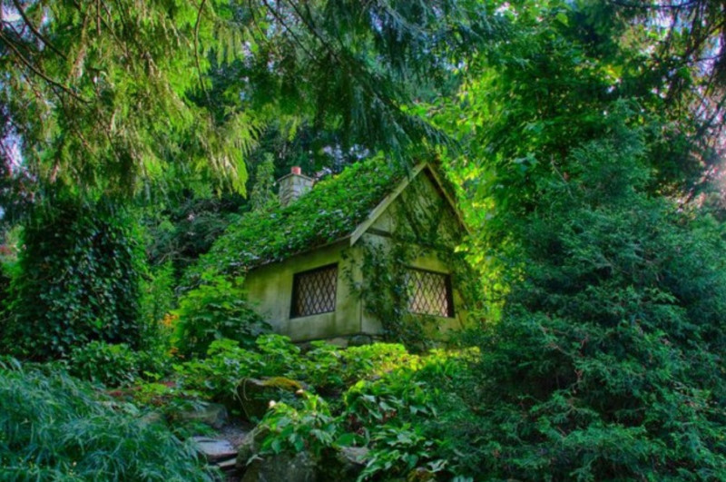 2. Сказочный коттедж в Канаде. в мире, дом