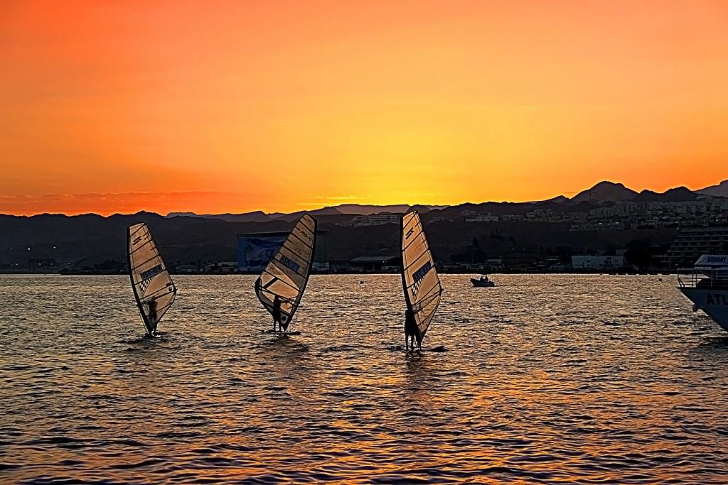 Красное море - рай для виндсерфингистов
