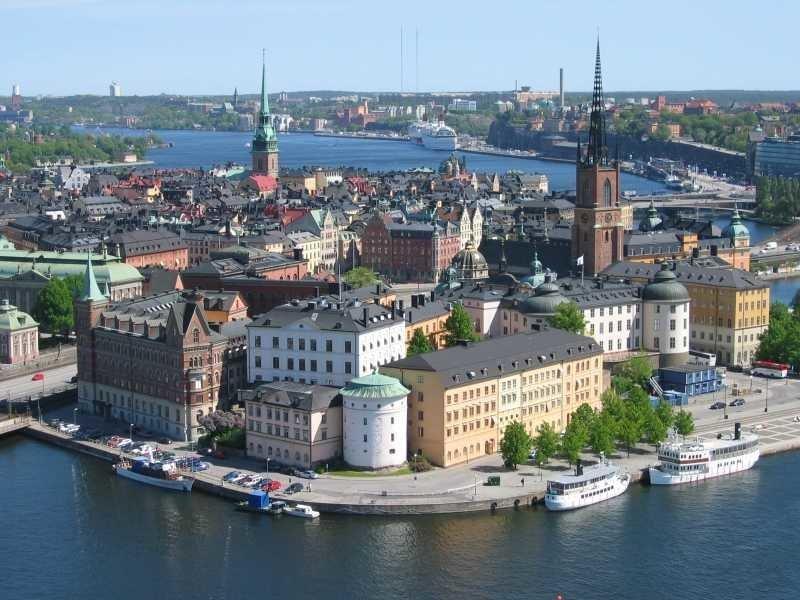 9. Стокгольм города, европа, красивые, самые