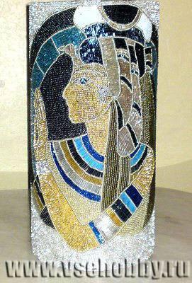 Декор вазы бисером своими руками: мастер-класс
