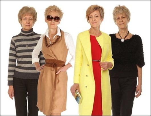 Каждая женщина вне зависимости от возраста и телосложения, может быть модной леди. Команда стилистов доказала это возраст