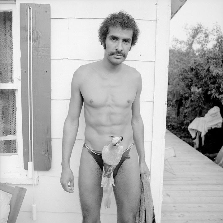 23. Родственник фотографа Мэрила Мейслера, США, 1980 год век, мир, прошлое, снимок, событие, странность, фотография