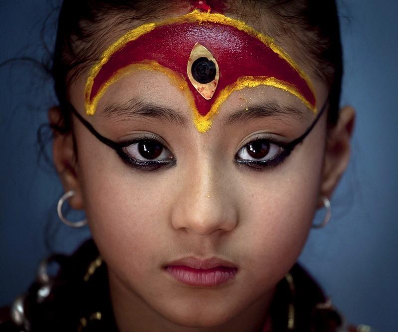 Кумари - живая и безупречная богиня Непала