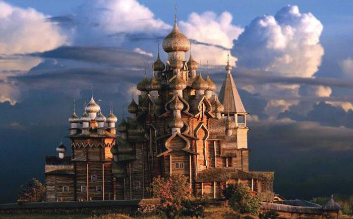 Церковь Преображения, Кижи, Россия