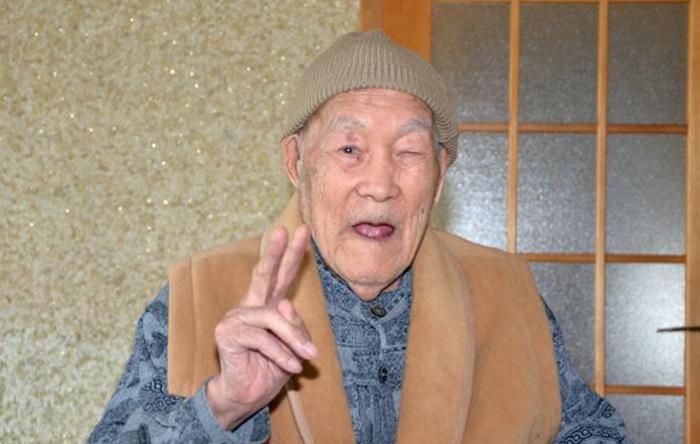 Долгожитель из Японии.