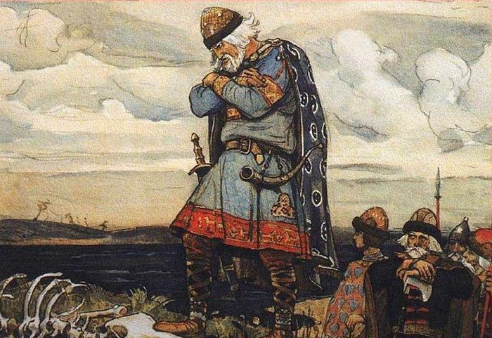 Олег был регентом Игоря, первого князя из Рюриковичей, и в его дружине были и финно-угры.