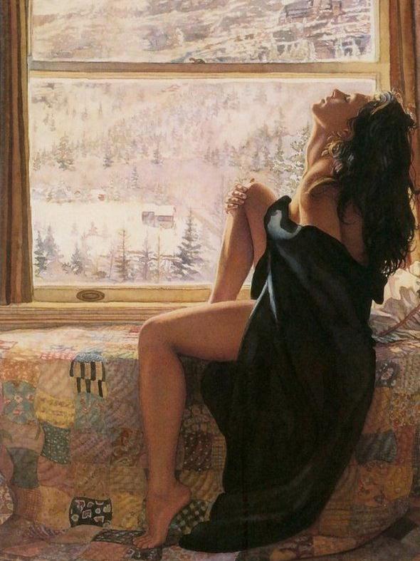 Невероятно красивые рисунки акварелью Стива Хенкса