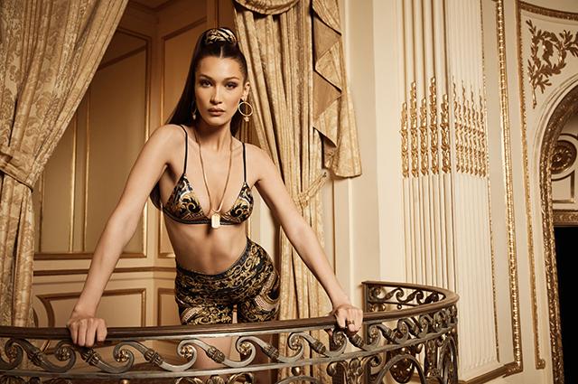 Белла Хадид стала лицом новой рекламной кампании Kith x Versace