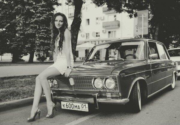 """""""Жигули"""" и красивые девушки """"Жигули"""" и красивые девушки,ИНТЕРНЕТ ШКАТУЛКА,красивые девушки,Красота это просто"""