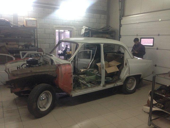 Волга 21 на современном Lexus GS 330