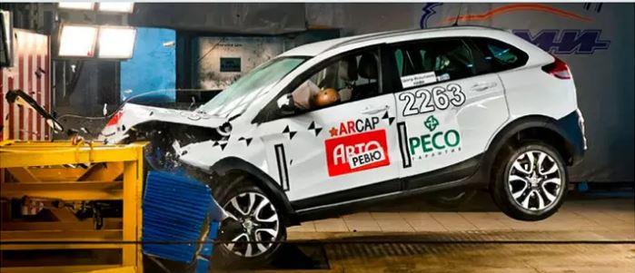 Lada XRay Cross удивил результатами краш-теста lada xray cross,краш-тест,марки и модели