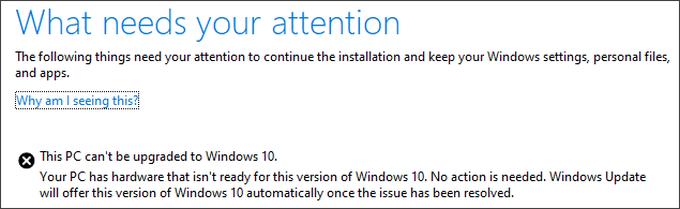 Новое обновление Windows 10 можно будет установить не на все ПК windows 10,гаджеты,интересное,пк