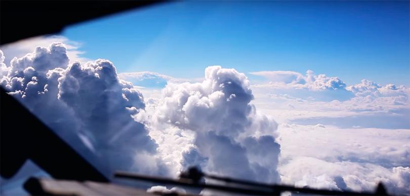 Вот как выглядит мир глазами пилота