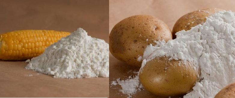 Картофельный и кузкурузный крахмал: в чём разница?