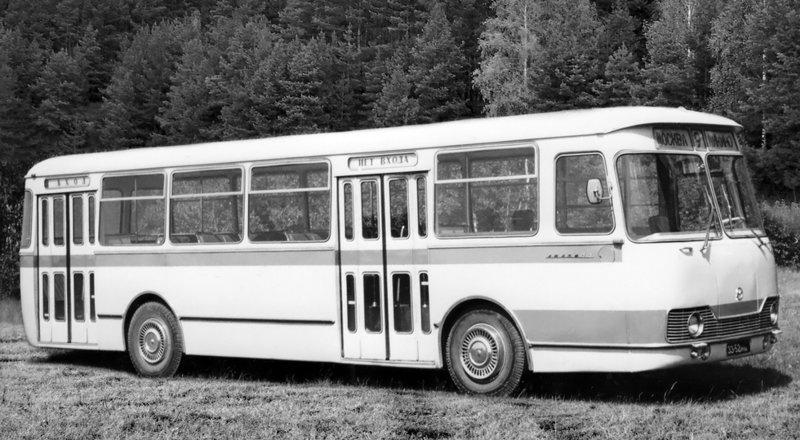 ЛиАЗ-677 история, советские автобусы, транспорт