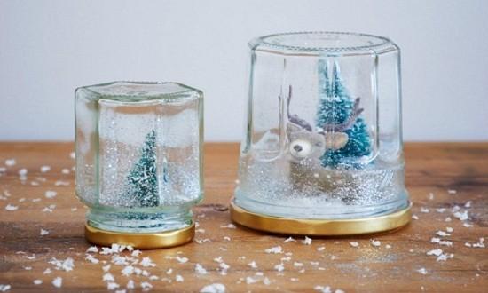 Волшебный шар со снегом: в подарок и для декора