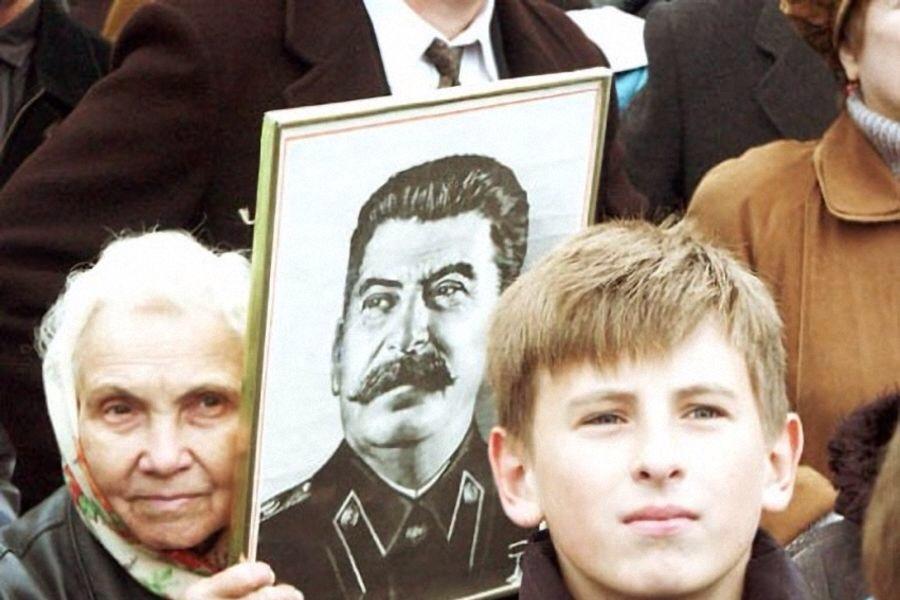 В России растет число сталинистов