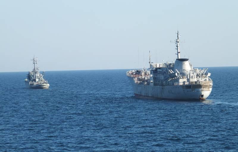 Два украинских корабля вошли…