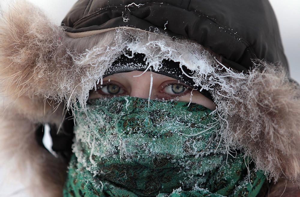 Аномальные холода в России