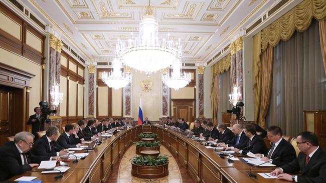 Правительство России, заседание правительства РФ|Фото: government.ru