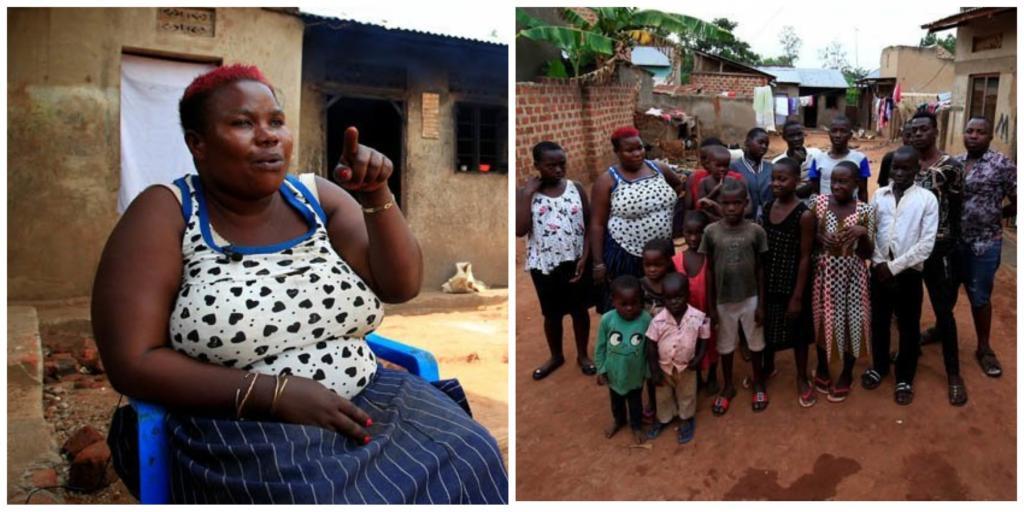 В тесноте, зато не скучно: одинокая 39-летняя женщина за всю свою жизнь родила 44 ребенка