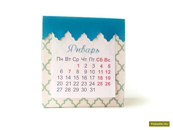 Настольный календарь— своими руками