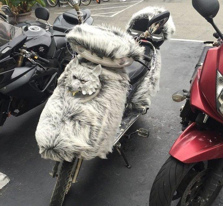 Лет, картинки мотоциклов с юмором