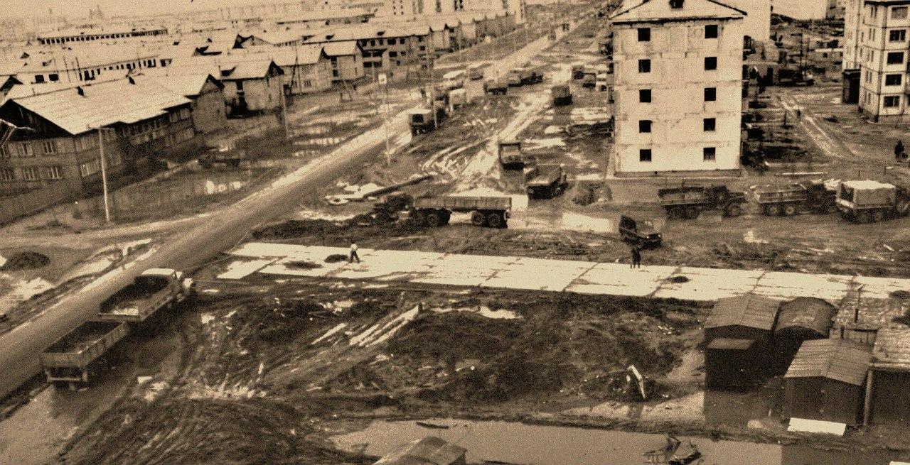улице нефтеюганск старые фото том