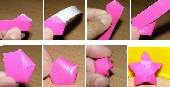 Как сделать своими руками звезду из бумаги