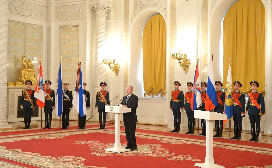 В Кремле вручены государственные награды