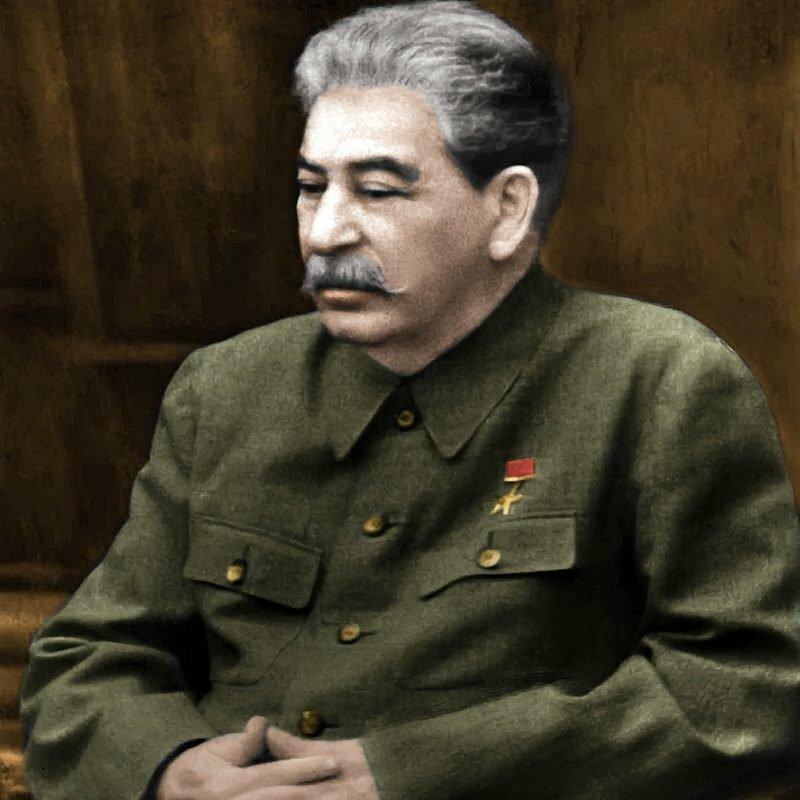Фото открытых источников. Сталин расстроился...