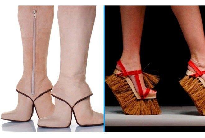 20 пар самой странной и абсурдной обуви,которые смогут купить только безумцы