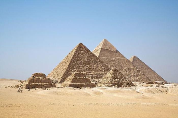 Пирамида в Гизе. /Фото:Ricardo Liberato