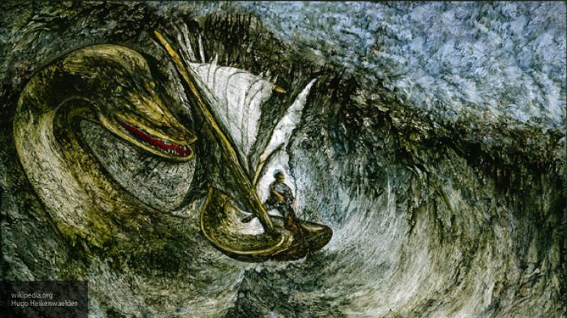 Охотник за Лох-несским чудовищем запечатлел существо на гидролокатор