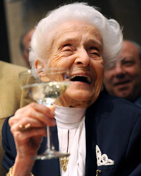 Рита Леви-Монтальчини:У души возраста нет! Великолепной можно быть и в 103 года!