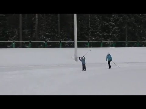 Выходной на лыжах (Лариса Струина)