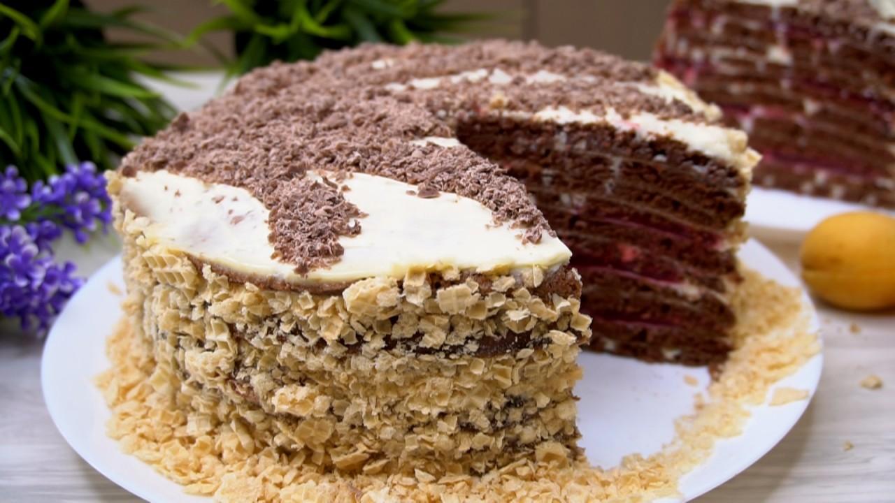 Торт На сковороде! Никакой Д…