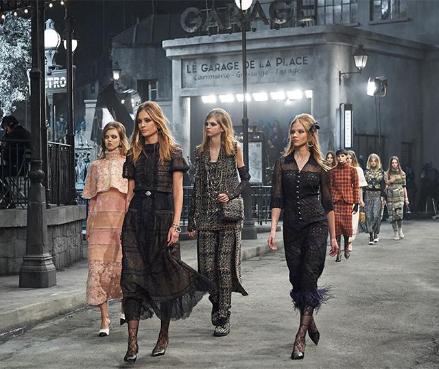 Chanel Métiers d'Art Collection Paris — Rome