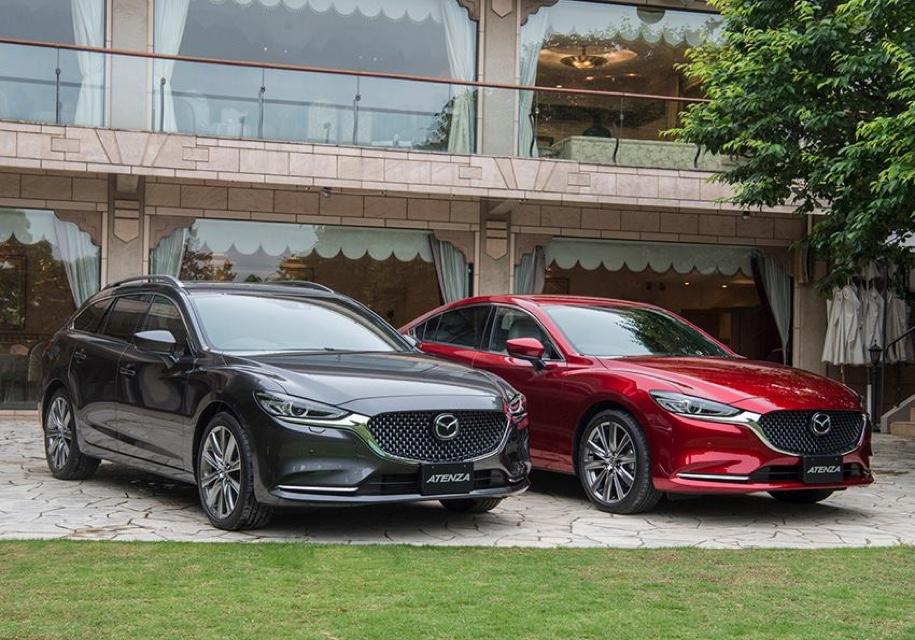 Mazda6 получила битурбо дизель