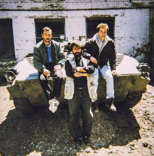 """""""Главное ковры!"""" Грозный. Январь 1995 г"""