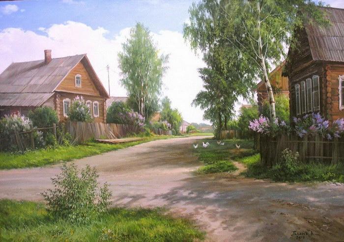 Дача: картины Вячеслава Палачева