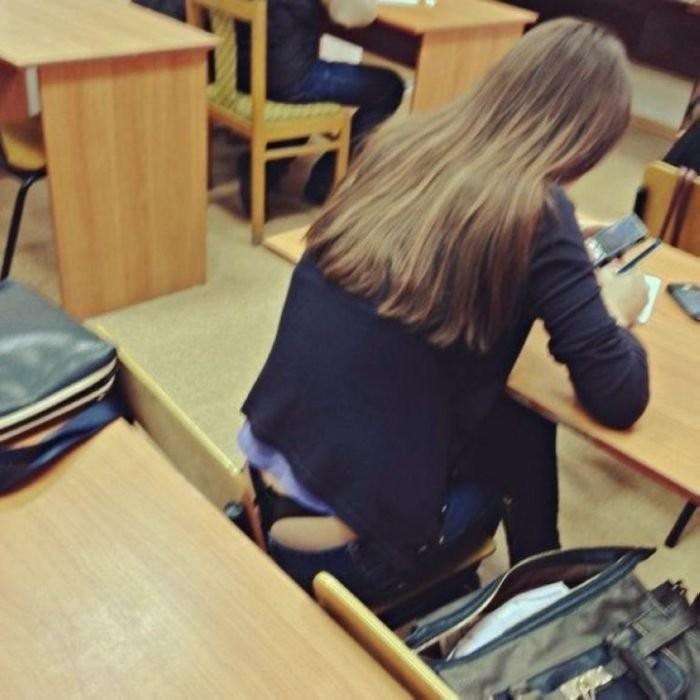 фото попок сделанных в школе