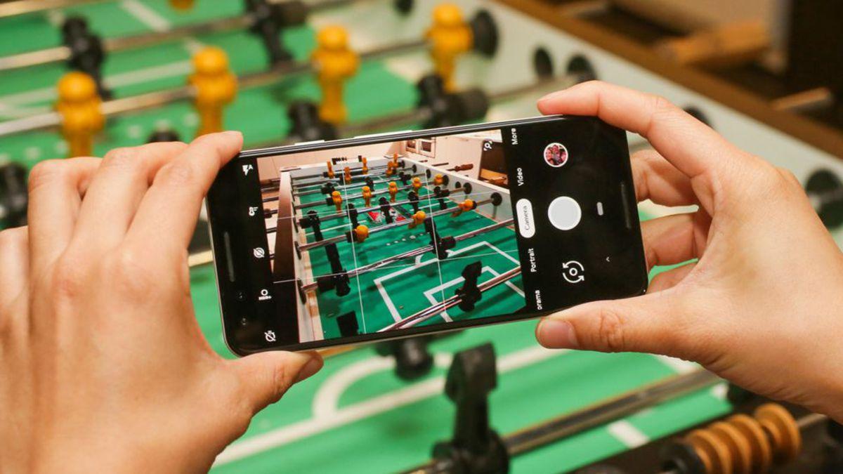 Дрожащие руки улучшают качество фотографий на смартфоны Google google,гаджеты,смартфоны,технологии