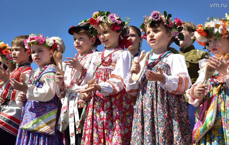 Фестиваль фольклорных танцев…