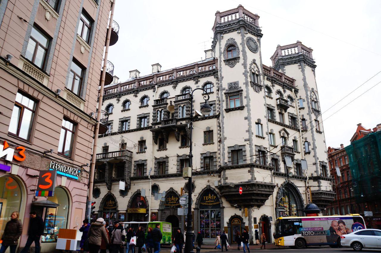 участок, который санкт петербург театр миронова фото была него дочь