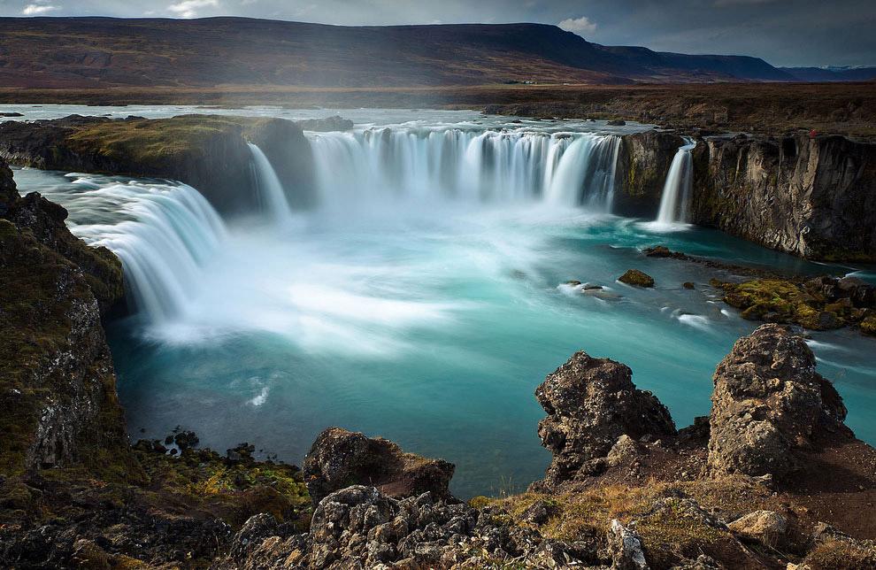Водопады Исландии водопады