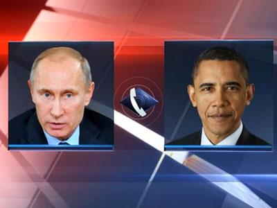 Путин в разговоре с Обамой: Референдум в Крыму полностью соответствовал нормам международного права