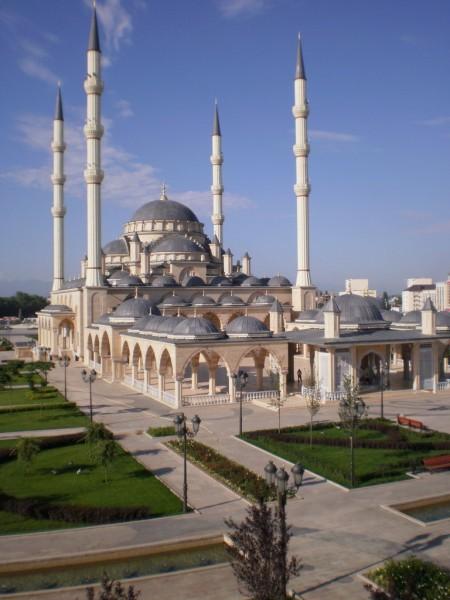 Мечеть «Сердце Чечни» республика Чечня, город Грозный история, ссср, факты