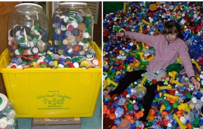 Для чего испанцы собирают пластиковые крышечки
