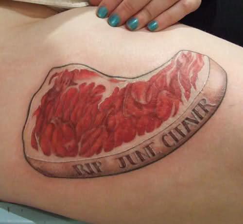 Потрясающие кулинарные татуировки